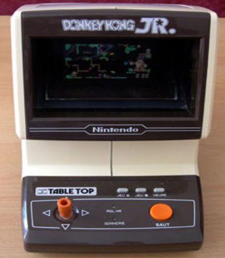 Donkey Kong Jr Nintendo Game Watch Tabletop Il