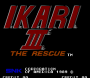 novembre09:ikari_iii_-_the_rescue_title.png
